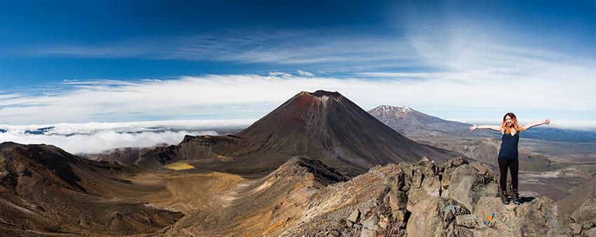 Mount Tongariro crop
