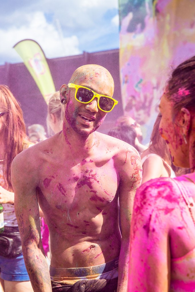 Holi Colour festival 2013 London-10