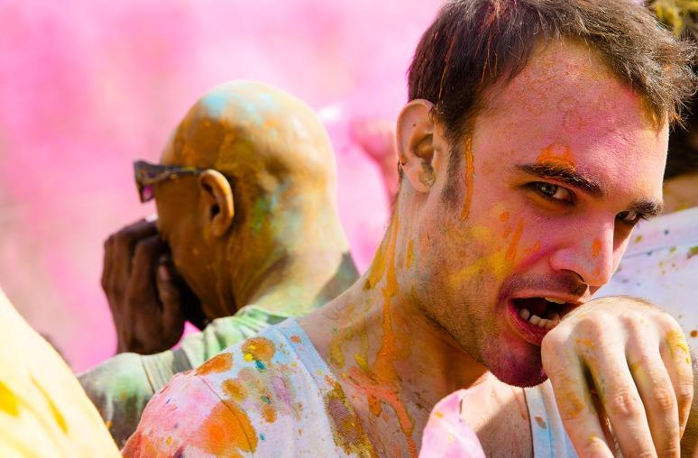 Holi Colour festival 2013 London-13