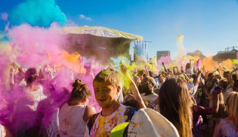 Holi Colour festival 2013 London-17