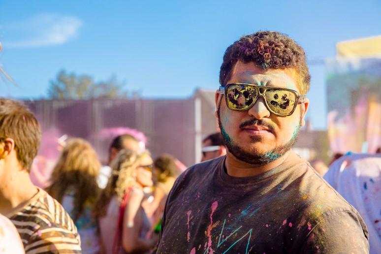 Holi Colour festival 2013 London-24