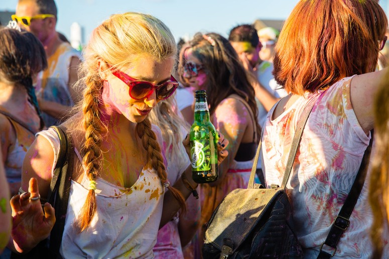 Holi Colour festival 2013 London-26