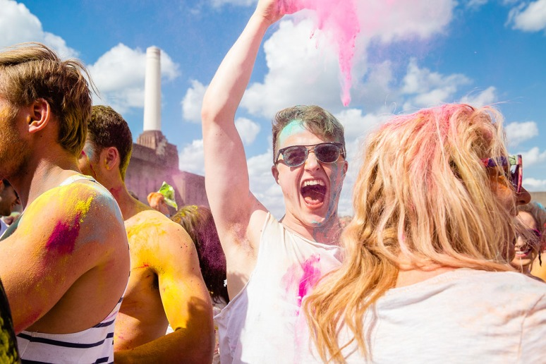 Holi Colour festival 2013 London-5