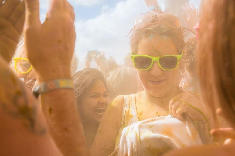 Holi Colour festival 2013 London-6